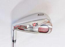 Left Handed Wilson D-FY 6 Iron Half Steel Half Graphite Reg Flex Shaft