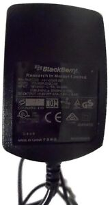 Genuine RIM Blackberry PSM05R-050RT Travel AC Charger Wall Home