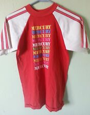VTG EARLY 1980'S MERCURY OUTBOARD MOTOR ENGINE RACING T-SHIRT ADULT SIZE SMALL
