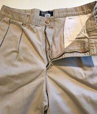 Polo Ralph Lauren Men Shorts Tyler Pleated Front Color Khaki Men Short Size 38