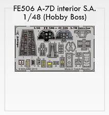Eduard 1/48  A-7D Corsair interior # FE506
