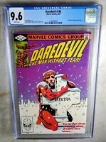Daredevil #182 - Marvel Punisher Kingpin 1982 CGC 9.6 NM+ WP - Comic I0102