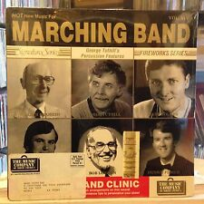 SEALED LP~GEORGE TUTHILL~et. al~Hot New Music For Marching Band~VOL XIV~[1986]