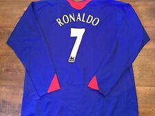 2005 2006 Manchester United Ronaldo Away Football Shirt Adults XXL Jersey 2XL