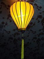 Vietnamese Silk Lantern-Yellow
