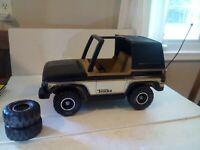 Vintage Tonka Bronco 4x4 Jeep Toy truck.