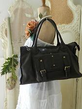 Genuine ORIANO Designer~Brown Leather handbag/Shoulder Bag/Shopper/Tote~GIFT~BN