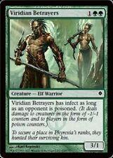 Viridian Betrayers LP x4 New Phyrexia  MTG Magic Cards Green Common