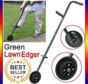 Self Sharpen Hardened Steel Blade Lawn Edge Trimmer Rolling Grass Cutter Wheel