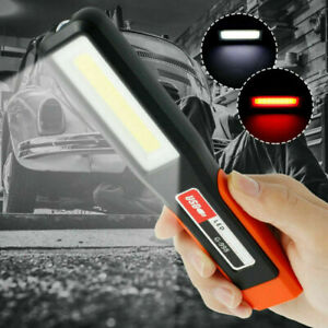 COB LED KFZ Arbeitsleuchte Magnet Akku Werkstattlampe Handlampe Stablampe DE
