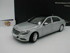 Almost Real 820103 # Mercedes-Benz S-Klasse Maybach Bj. 2016 silbermetallic 1:18