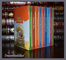 Little House on the Prairie by Laura Ingalls New Sealed 9 Volume Deluxe Box Set