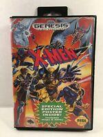 X-Men (Sega Genesis, 1993) Authentic No Manual