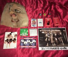 Bloodhound Gang - Ultimate Fan Set! Stage Used Mask, Picks, Passes, Signed Photo