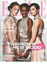 ELLE UK Magazine AUGUST 2017, FASHION'S NEW MOOD.