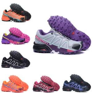 2021 Donna Salomon 4 Speedcross Athletic Running Sports Outdoor Hiking Shoes IT