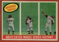 1959 Topps #464 Willie Mays LOW GRADE WRINKLE GLUE San Francisco Giants FREE S/H