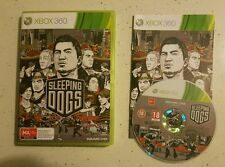 Sleeping Dogs Great  Xbox 360 Game - Complete- Fast Free Post! PAL!
