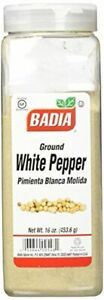 Badia Spices inc Spice White Pepper Ground 16-Ounce