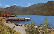 Colorado~Grand Lake Boat Dock Garage~Rockies Park Entrance~Log Cabin~1950s Cars