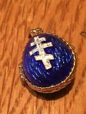 Russian Silver Gilt  Enamel Egg Pendant/charm