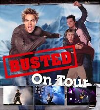 """""""Busted"""": On Tour - the Official Book by Robinson, Peter Hardback Book The Cheap"""