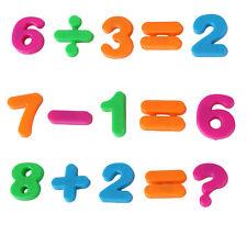 26pcs Lower/Upper Case ALPHABET LETTERS Number Magnetic Fridge Kid Learning Toys
