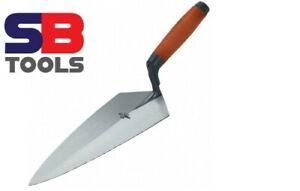 "Marshalltown Philadelphia 9.5"" Brick Trowel M1995F Durasoft handle. 9.5 Inch"