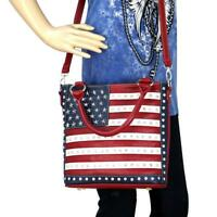 Montana West American Pride Concealed Carry Handbag US Flag Patriotic Purse
