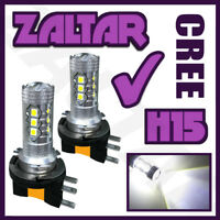 Bmw 2 Series 80w H15 White Upgrade Xenon Canbus Led Error Free Drl Bulbs Set
