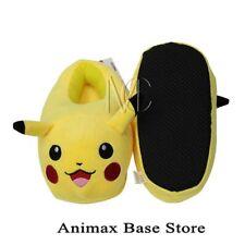 Children's Pokemon go Pikachu Full Stuffed Plush Slippers 3D Winter Warm Shoes