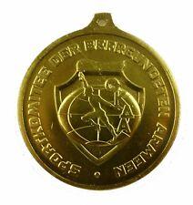 #e7884 Original alte DDR Medaille SKDA-Meisterschaft im Geräteturnen 1974