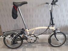 **Rare** Vintage Ivory Brompton T5 Folding Bike