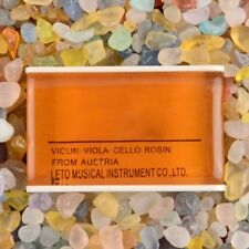 New Natural Light Rosin Resin For Violin Bow Orchestra Amber High Quality