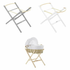 Clair de Lune Self Assembly Wooden Folding Moses Basket Stand