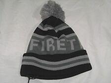 BNWT -  FIRETRAP  Ski Snow Bobble Beanie Hat - Black