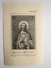 Hoc est corpus meum / Andachtsbild Heiligenbild