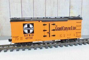 "LGB (45720)  SANTA FE ""The Grand Canyon Line"" REEFER"