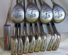 Japan Complete Men's Golf Set DAIWA Hi-Trac TCS STIFF 3-10 Iron,4 Woods,Putter