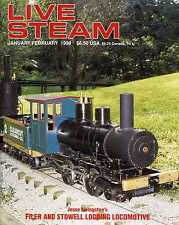 Live Steam V32 N 1 January/February 1998 Filer and Stowell Logging Locomotive