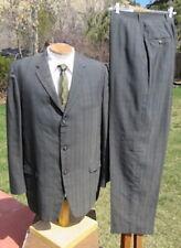 New listing Lightweight Vintage 1960s Suit 44L 36x32 - Cool 2-Tone Silk Summer Sharkskin