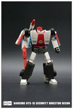 Transformers BadCube OTS-15 Security Directo Recon G1 Redalert Toy Gift In Stock