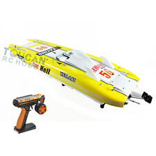 DT G30E Hell Cat Fiber Glass 70Km/h 30CC Engine Gas RC ARTR Racing Boat