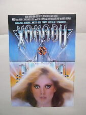 XANADU / OLIVIA NEWTON-JOHN (1980/USA) ORIGINAL YUGOSLAVIAN MOVIE POSTER
