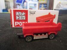 Tomica Taito Prize Half Size P051 Farm Tandem Transfer Trailer N Scale 1:160