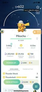 Pokémon Go Shiny Explorer Hat Pikachu - Registered Trade Only