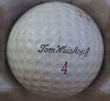 (1) TOM WEISKOPF SIGNATURE LOGO GOLF BALL ( MACGREGOR GOLDEN CORE CIR 1962) #4