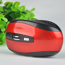 2.4GHz Wireless Black & Red Optical Mouse for PC Computer Laptop with Receiver G