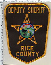 Rice County Sheriff's Dept(Minnesota) Shoulder Patch new from 1992