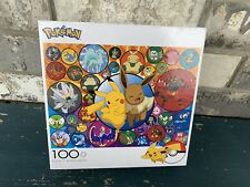 Pokemon 100 Piece Jigsaw Puzzle-Pikachu-Eevee- Buffalo Games *NEW*